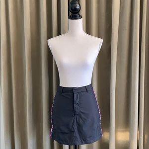 Forever 21 side stripe mini skirt